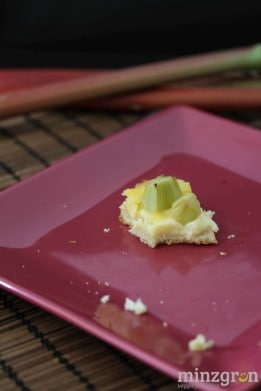 Rhabarber-Pudding-Tarte