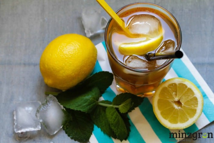 Lemon Mint Ice Tea