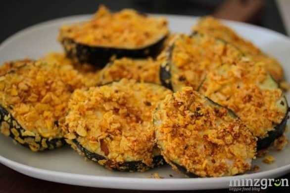 Cornflakes-Aubergine