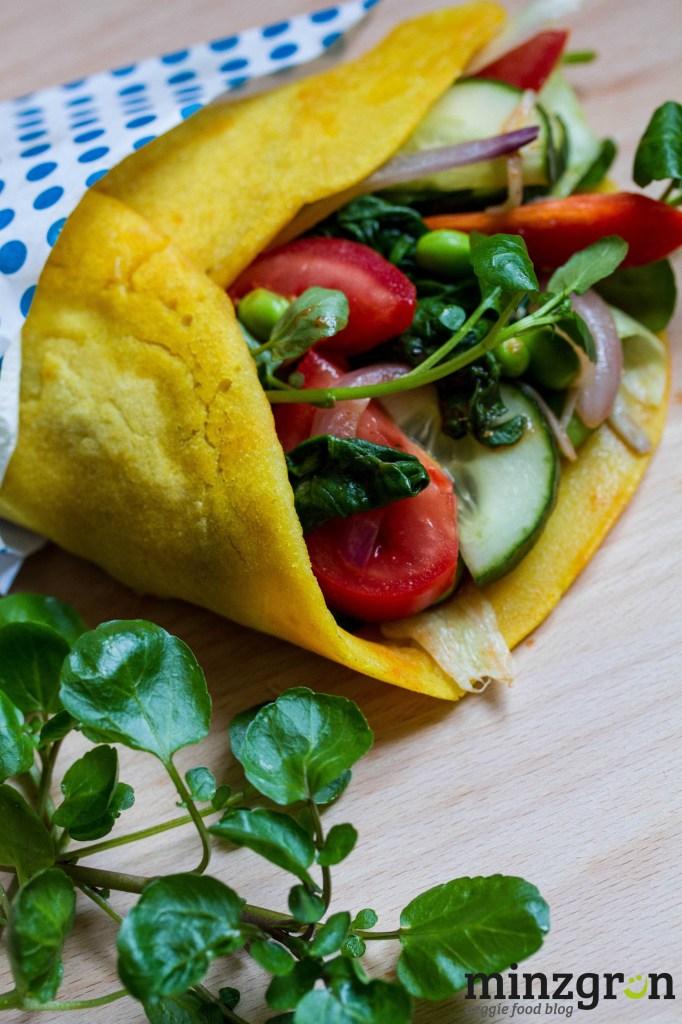 Reiswraps mit Tomatenmayonnaise