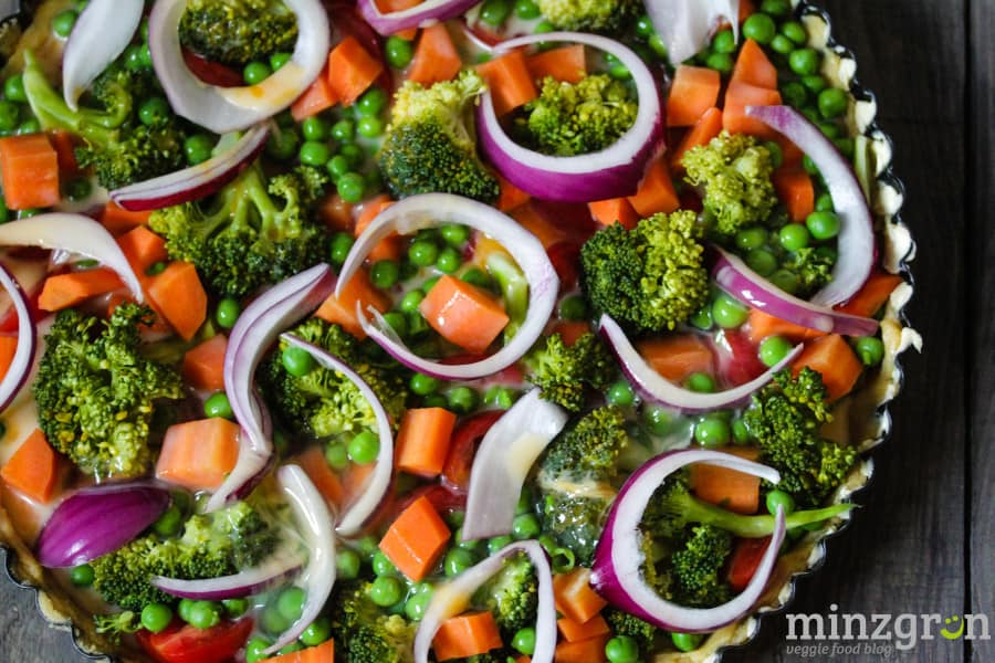 glutenfreie Gemüsequiche