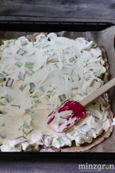Rhabarber-Cheesecake