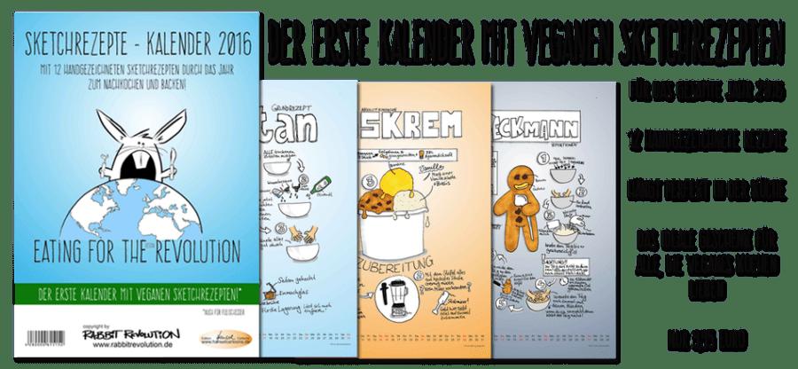 Sketchrezepte Kalender 2016
